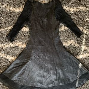 Beautiful black Komarov dress